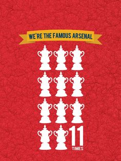 Arsenal FA Cup Trophy 2014