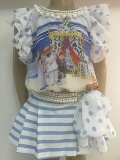 Anjo D'Agua Shorts/SAIA e Blusa Anjo D'agua Moda Infantil 6247