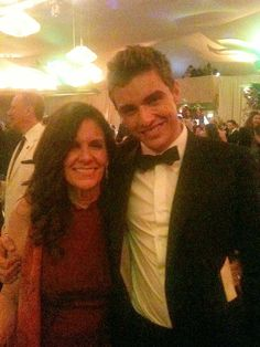 2-11 Betsy and Dave Franco at an Oscar after party.