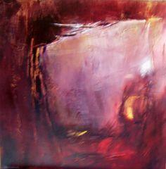 garance - Painting,  60x60 cm ©2007 by Françoise Vandiedonck -