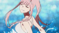 Animated gif about cute in Darling in the frankxx by ~ Naho ~ Anime Gifs, Anime Manga, Querida No Franxx, Steam Artwork, Anime Zero, Grimgar, Icon Gif, When You Smile, Zero Two