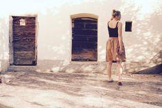 Bloggen leicht gemacht. bei Einfach mit Stil Ballet Skirt, Skirts, Fashion, Fashion Styles, Simple, Vegetarian Cooking, Blogging, Moda, Skirt