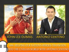 1096: Helping our nation's heroes transition into the civilian world with Antonio Centeno