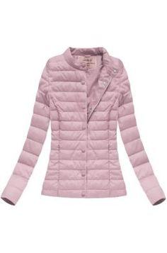 Dámska prechodná bunda ružová W56 XXL Winter Jackets, Outfit, Clothes, Fashion, Silk, Winter Coats, Outfits, Outfits, Moda
