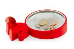 A safe place for all your loose coins.