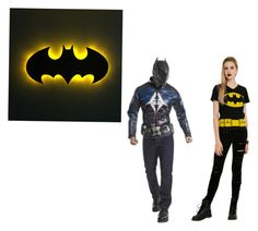 BATMAN!!!!! by marcia-hernandez on Polyvore featuring polyvore and art