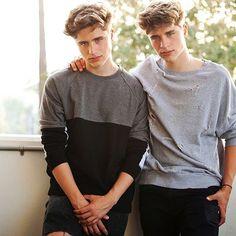 looking like twins