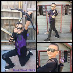 Hawkeye Costume for Book Week
