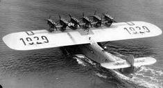 When it was produced by the Dornier company of Germany in The Dornier Do X was the largest, heaviest, and most powerful flying boat in the world. Amphibious Aircraft, P51 Mustang, Flying Boat, Air Space, Commercial Aircraft, Civil Aviation, Air Travel, African History, Sea Planes
