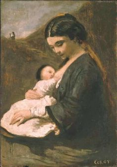 In the Swan's Shadow: Mother & Child, ca. 1860