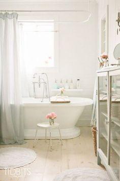 Serene and Sophisticated Bathrooms Made Simple - Tidbits - Tips - Heidi Milton - Mohawk Bath Rug