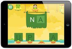 Juego de los cangrejos ermitaños para completar sílabas #sílabas #app #ilustración