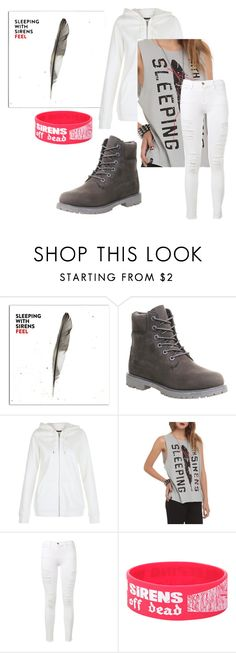 """Feel/SWS"" by actual-sinnamonrol ❤ liked on Polyvore featuring Timberland and Frame"