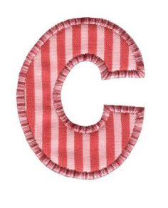 Buchstabe / Letter C