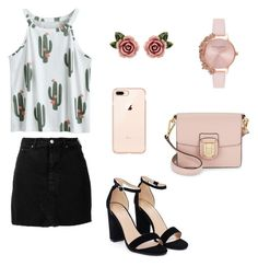 """Untitled #10"" by niken-laras on Polyvore featuring IRO, Nasty Gal, Sam Edelman, Olivia Burton and Dolce&Gabbana"