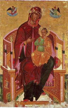 Orthodox Icons, Virgin Mary, Tarot, Saints, Goth, Painting, Child, Design, Gothic