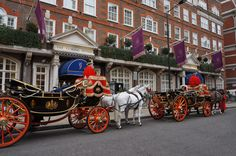The Goring - The perfect way to arrive at the hotel!
