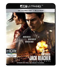 Jack Reacher: Never Go Back (4K UHD Blu-ray + Blu-ray + Digital Download) [2016]
