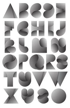 63 Creative & Beautiful English Letters Typography Designs For Font Designs | Redchn Design