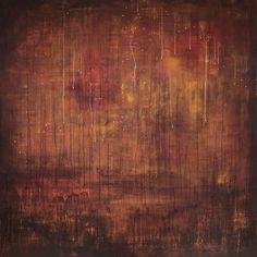"«Sjaman"" Acryl on Canvas, 100 cm x 100 cm by Hanne Thorsdalen.  www.hannethorsdalen.com"