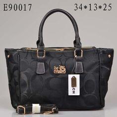 2013 New Arrival Coach Dark Handbag 90017 black