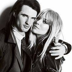 The Burberry Autumn/Winter 2013 campaign starring British couple Sienna Miller and Tom Sturridge. Her hair :)