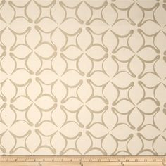 Robert Allen Promo Twilo Jacquard Champagne from @fabricdotcom  Refresh and modernize any home decor with this medium weight jacquard fabric. Perfect fabric for revitalizing an old piece of furniture and updating it with a new look. This fabric is an appropriate weight for accent pillows, slipcovers, and upholstering furniture, headboards, poufs and ottomans. Colors include champagne and white.