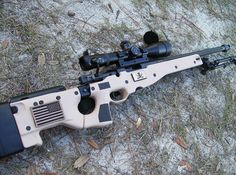Accuracy International Arctic Warfare Short Magnum or AWSM Precision Rifle Weapons Guns, Military Weapons, Guns And Ammo, Bushcraft, My Champion, Cool Guns, Awesome Guns, Fire Powers, Assault Rifle