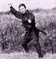 Hatsumi sensei, actual soke y pupilo del gran maestro Takamatsu