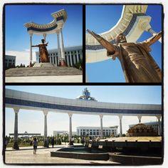 Monumento dedicato ad Algoritmo in una piazza di Tashkent. Photo by Riccardo Negro