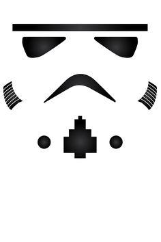 Star Wars - Minimalist Storm Trooper