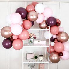 Custom DIY Mixed Pastel 10ft Balloon Arch Garland Kit for Baby Shower Wedding Birthday Graduation Anniversary Organic Party