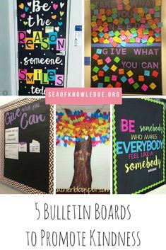5 Bulletin Boards to