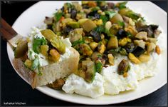 labneh pistachio | Labneh with Olives, Pistachios & Oregano