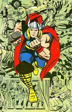 Thor by Jack Kirby il mio preferito!
