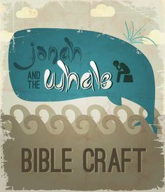 Jonah and the Whale Craft for Kids (total crowd pleaser- even with the non-crafty ones!)