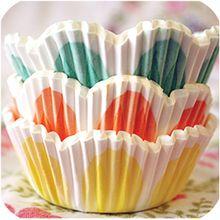 Spring Flower Cupcake Liners.  $4.75/48