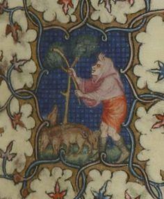Bréviaire de Paris dit Bréviaire dit de Charles V [Breviarium Parisiense]. Auteur : Jean Le Noir. Enlumineur Date d'édition : 1340-1380 Type : manuscrit Langue : Latin Français