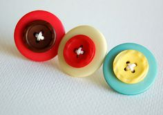 Create your own button brads with this tutorial from @Teri Anderson