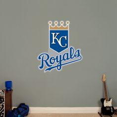 MLB Kansas City Royals Valance Baseball Window Treatment