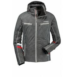 A knockout! Schöffel's Tyson Jacket promises you not only all the important features for a full-on day in the snow, but you also get to enjoy the famous Schöffel quality and look great into the bargain. The removable storm hood and water resistant zips protect you from wind and weather - your new winter favourite! Schöffel give you everything you need to get out in nature: not only first class materials but 200 years of experience for your peace of mind.
