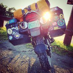 Bike envy #BMW #Vermont