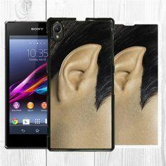 Star trek spock ear sony xperia z2 z1 case back cover black white phone case #startrek #geek #boy #men #boyfriend #designer #creative #funny #awesome #beautiful #wow #gift #lol #interesting #cool #best