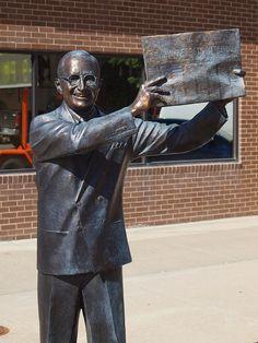 Harry S Truman Statue, Presidents Tour, Rapid City, South Dakota - 33rd President of the United States of America