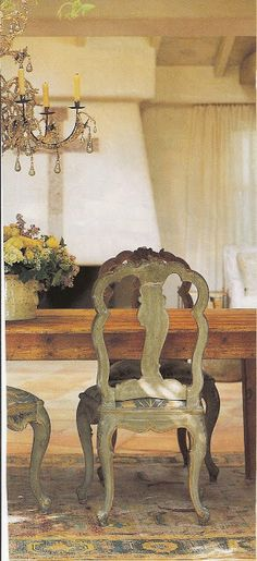 Belle Francaise Interiors: ~ Antique Painted Chairs: Inspiration + Retail Therapy ~