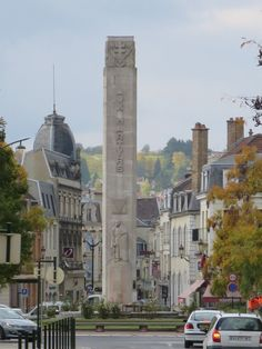 Aux Martyrs Column in the centre of town of Epernay Monuments, Champagne Region France, Travel Around Europe, Traveling Europe, Haute Marne, Ardennes, Reims, Visit France, European Vacation