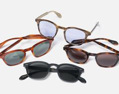 Mark McNairy x Garrett Leight - Eyewear Collection