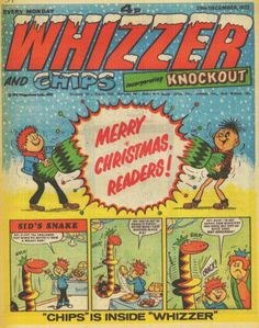 Whizzer and Chips incorporating Knockout, Christmas 1973 - I probably had this. 1970s Childhood, My Childhood Memories, Christmas Comics, Children's Comics, Morning Cartoon, Classic Comics, Day Of My Life, Vintage Comics, Saturday Morning