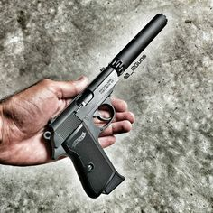 1,027 отметок «Нравится», 11 комментариев — DJTackleberry (@10_8guns) в Instagram: «The Walther PPK/S Suppressed. #waltherppk #walther #ppk #silencerco #suppressor #silencer #22lr…»