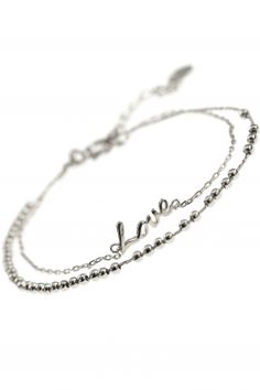 sterling silver #love bracelet I NEW ONE symbols of life collection I NEWONE-SHOP.COM